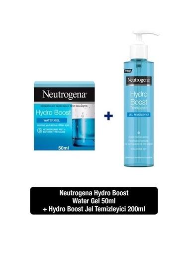 Neutrogena NeutrogenaHydro Boost Nemlendirici Normal Ciltler ıçin 50Ml+Hydro Boost Water Gel Temizleyici 200Ml Renksiz
